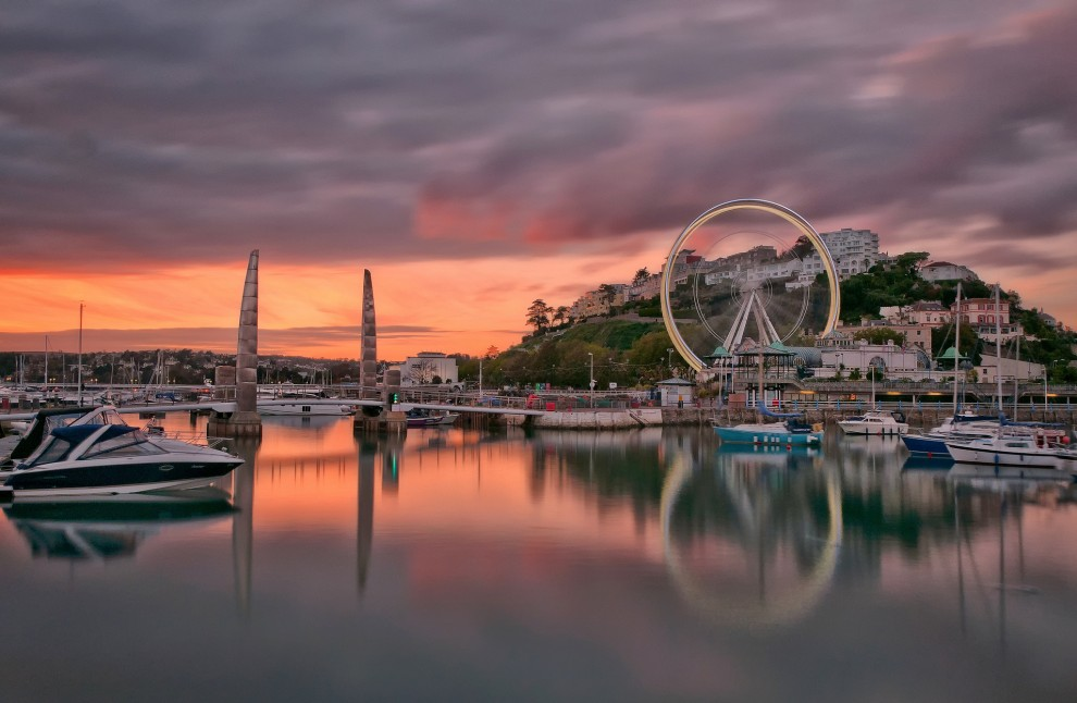 torquay-sunset