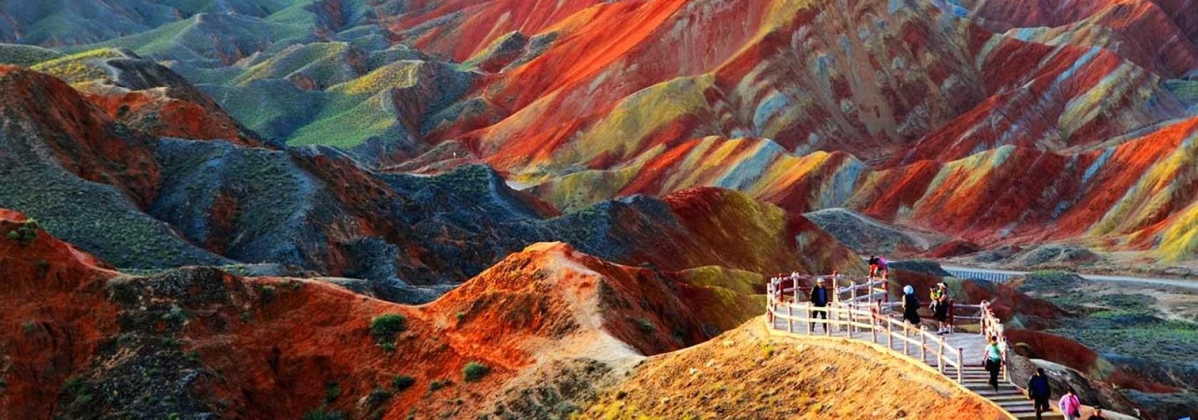 Montagne Arcobaleno - Cina