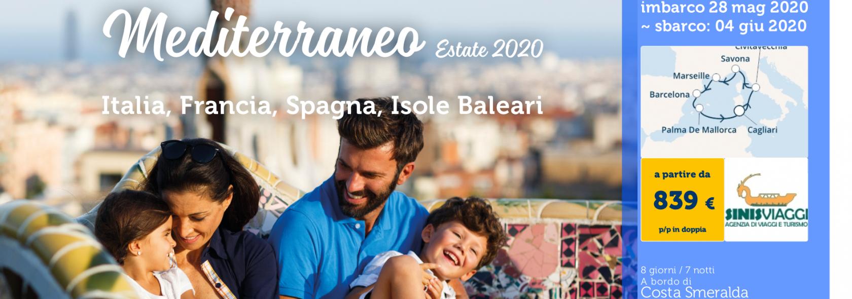 Costa Smeralda da Cagliari ogni Govedì