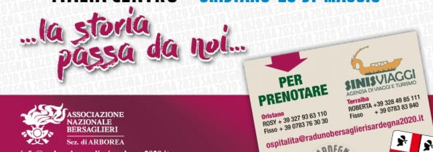 Raduno Bersaglieri Sardegna - Oristano 2020