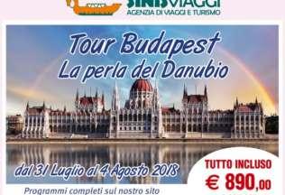 Tour Budapest - La perla del Danubio