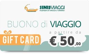 Regala un Buono Viaggio a partire da 50 euro